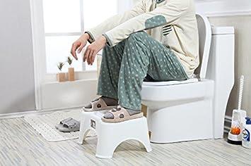 Hyp antiscivolo anti costipazione heal squat emorroidi sgabello