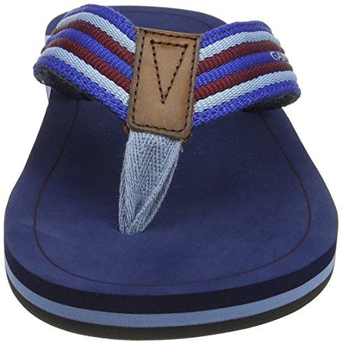 Gant Men's Breeze Flip Flops Blau (Multi Blue) emn3vmeb