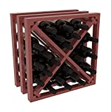 Wine Racks America Ponderosa Pine Lattice Stacking X Cube. 13 Stains to Choose From! Review