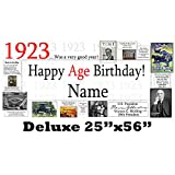 1923 95th Birthday Deluxe Personalized Banner by Partypro