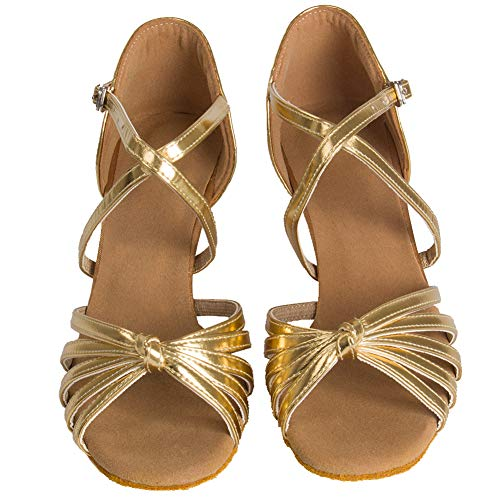 Oro WZJ Dancing HIPPOSEUS Model Cl Latin Ballroom Shoes 5cm Women's Shoes Dance qOFwHPO8