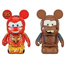 Disney Vinylmation Cars 2 Figures: Lightning McQueen and Tow Mater -- 2-Pc. Set