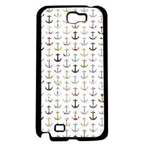 Different Color Anchors Hard Snap on Case (Galaxy Note 2 II)