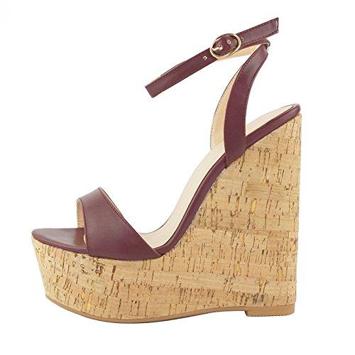 Donyyyy e di pendenza scarpa contro da la six grana legno Thirty sandali donna RgOqwRxr