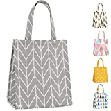 Best Ladies Lunch Bags - Buringer Insulated Lunch Bag with Inner Pocket Printed Review