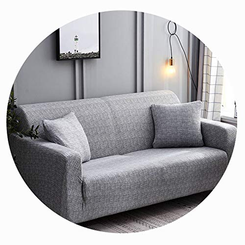 Qianqian Paper Crane 24colors Slipcover Stretch Four Season Sofa Covers Furniture Protector Polyester Loveseat Couch Cover 1/2/3/4 Seater,Color 27,3 Seater (Brisbane Gumtree Furniture Outdoor)