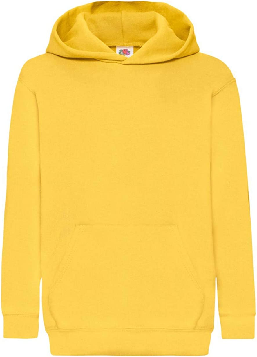 FRUIT OF THE LOOM Kids Classic Hooded Sweatshirt