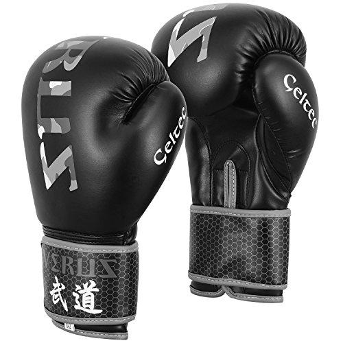 Verus Boxing Fighting Bag Gloves MMA Muay Thai UFC Training Mitts Kickboxing – DiZiSports Store
