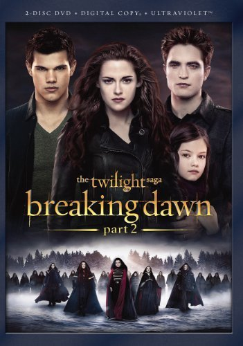 The Twilight Saga: Breaking Dawn - Part 2 [DVD + Digital Copy + UltraViolet] by Summit Entertainment (Part Breaking Dawn 2 Movie)
