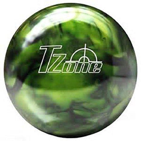 Brunswick TZone Green Envy Bowling Ball (15-Pounds