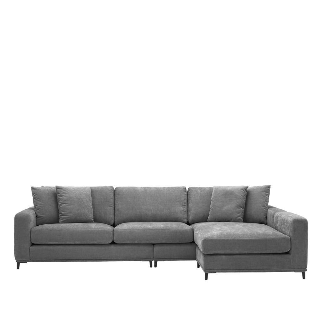 Amazon.com: Gray Velvet Lounge Sofa | EICHHOLTZ FERAUD ...