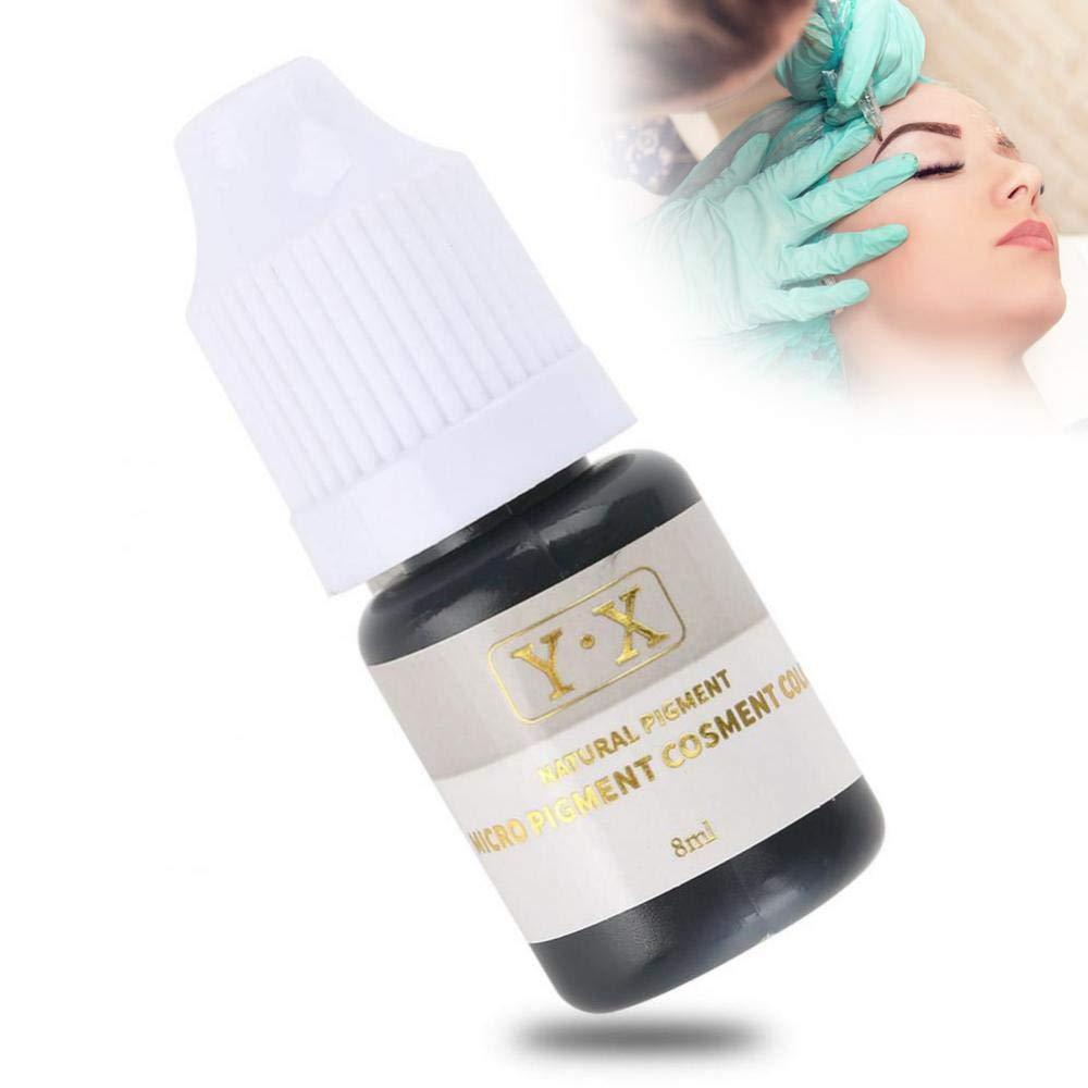 Tattoo Ink For Eyebrow Microblading Pigment Ink Semi Permanent Makeup Eyebrow Lips Eye Line Color Black Eyeline Beauty Amazon Com