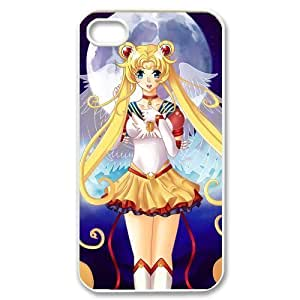 Case for iPhone 4s,Cover for iPhone 4s,Case for iPhone 4,Hard Case for iPhone 4s,Cover for iPhone 4,Sailor Moon Design TPU Hard Case for Apple iPhone 4 4S