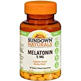 Best Sundown Naturals probiotic supplement - Sundown Naturals Melatonin Extra Strength 5mg, 60 Tablets Review