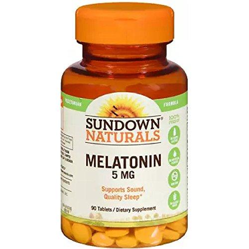 Sundown Naturals Melatonin Tablets Pack