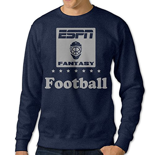 mens-espn-fantasy-round-collar-pullover-hoodies-sweaternavy-size-m