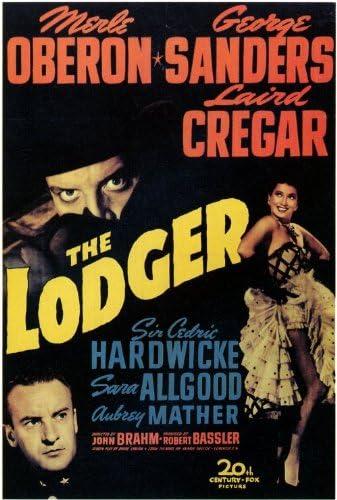 Amazon.com: The Lodger Movie Poster (27 x 40 Inches - 69cm x 102cm ...