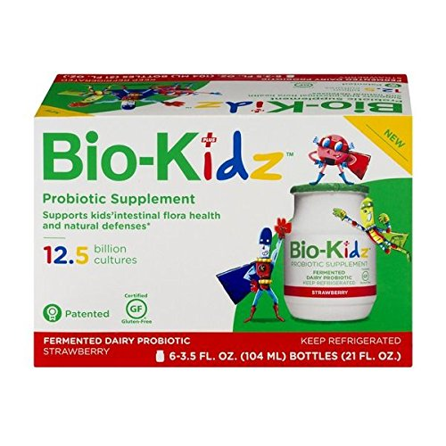 Bio-Kidz Probiotic Supplement Strawberry - 6 CT by Bio-Kidz