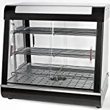 Ensue Restaurant Commercial Countertop Food Warmer 27'' Display Case