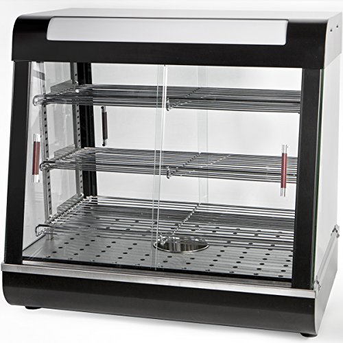 Ensue Restaurant Commercial Countertop Food Warmer 27'' Display Case by Ensue