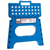 Acko Blue 11 Inches Non Slip Folding Step Stool for