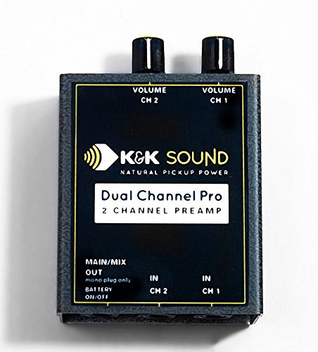 K&K Sound Dual Channel Pro Two Channel Guitar Preamp/EQ by K&K Sound