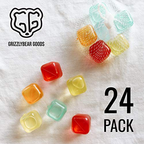 Reusable Ice cubes! - 24 pack - Keep drinks undiluted!