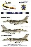 AFD48002 1:48 Afterburner Decals F-16C Falcon Block 50 55FS