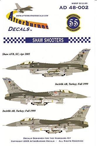 urner Decals F-16C Falcon Block 50 55FS