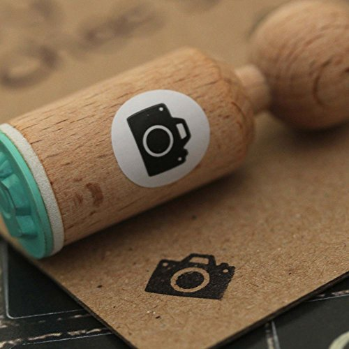 Camera Very Mini Wooden Rubber Stamp Craft / Scrapbooking / (Rubber Stamping Supplies)