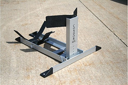 Simple Chock SC-UWCK Condor Motorcycle Ultra Wide Cradle Kit for 230-360 for Trailer-only