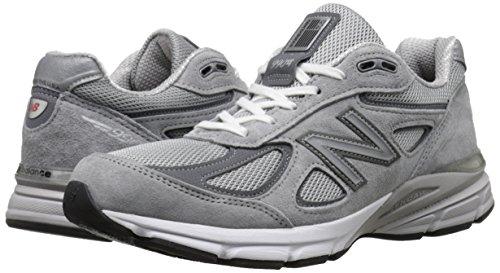 New Balance Men's M990GL4 Running Shoe, Grey/Castle Rock, 11 D US