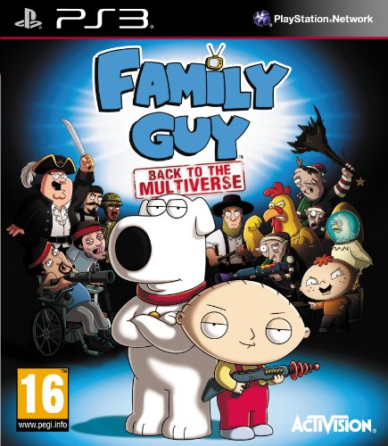 Family Guy: Back to the Multiverse (PS3) (UK IMPORT) (Game Family Ps3 Guy)
