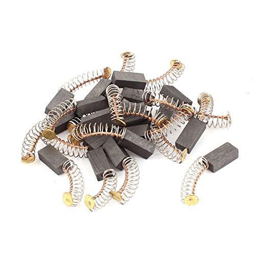DealMux 10 pares taladro elé ctrico del motor escobillas de carbó n de piezas de repuesto 12mmx6mmx4mm DLM-B01IWUSEAW
