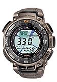 "Casio Men's PAG240T-7CR ""Pathfinder"" Triple-Sensor Multi-Function Titanium Watch by Casio"
