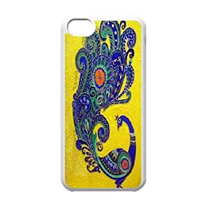 LTTcase DIY peacock Case for iphone 5c