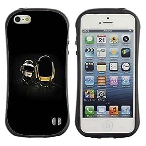 LASTONE PHONE CASE / Suave Silicona Caso Carcasa de Caucho Funda para Apple Iphone 5 / 5S / Daft Band