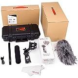 Aputure Deity Professional Condenser Shotgun Video Microphone Kit with Shock Mount for Canon Nikon Sony Digital Camera DV Camcorder Digital Camera
