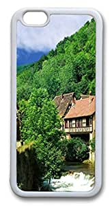 iphone 6 plus 5.5inch Case Geographical landscape ID04 TPU Custom iphone 6 plus 5.5inch Case Cover Whtie