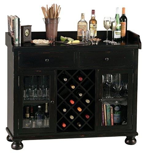 Howard Cabinet Metal Miller Wine (Howard Miller 695-002 Cabernet Hills Wine & Bar Console)