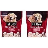 Amazon.com: Ol' Roy Munchy Bones Dog Chew Treats With Real
