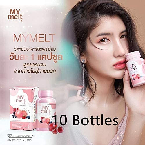 B07SCSN8DS 10 x My Melt Collagen Nourish and Revitalize All Skin Problems from Nature (300 Caps) Free-Shipping 51gMPYFOU9L.