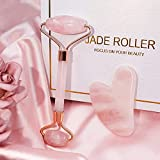 Jade Roller & Gua Sha, Face Roller, Facial Beauty