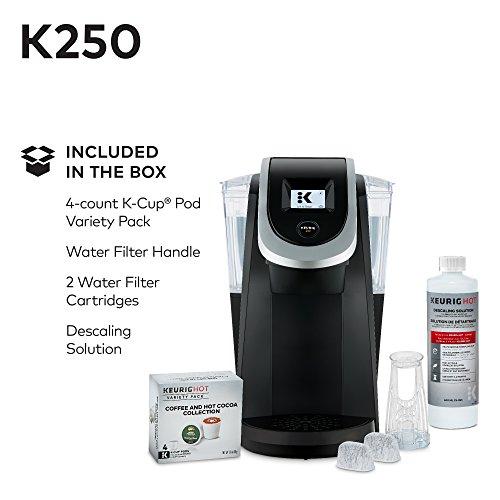 Keurig K250 Single Serve, K-Cup Pod Coffee Maker with Strength Control, Black by Keurig (Image #9)