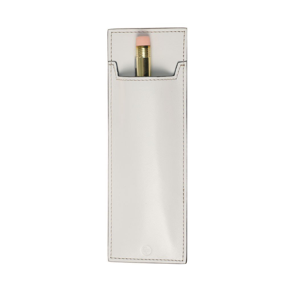 Craft Design Technology Leather Pen Sheath - Choose from 3 colors! (White) by Craft Design Technology