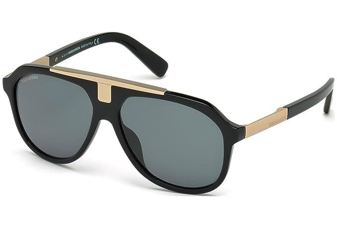 Gafas de sol DSquared2 Gregg DQ0206 C58 01A (shiny black ...