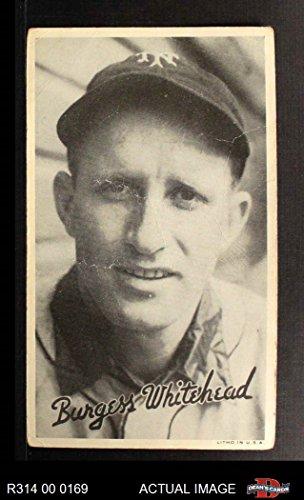 1936 Goudey Wide Pen Burgess Whitehead New York Giants (Baseball Card) Dean's Cards 1.5 - FAIR Giants