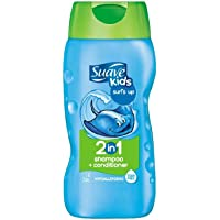 6-Pack Suave 2 in 1 Shampoo and Conditioner, 12 oz