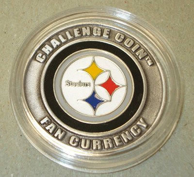 NFL Pittsburgh Steelers Challenge Coin Poker Card Cover