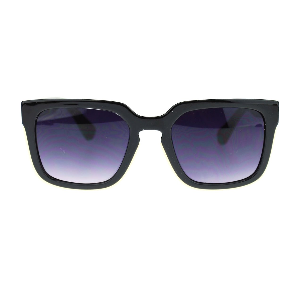 Hipster Horn Rim Keyhole Luxury Designer Mob Sunglasses